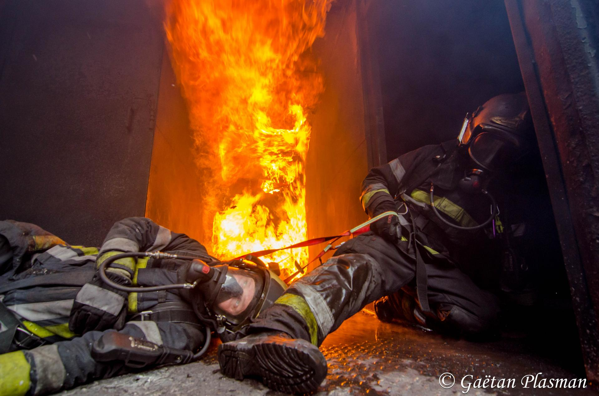RIT firefighter